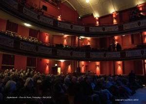 Waiting for Show to begin - Oysterband - - Parc and Dare - Feb 2013 - _0073l