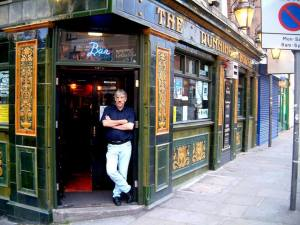 Barry Middleton @ The Running Horse - photo credit and copyright David Stephenson.