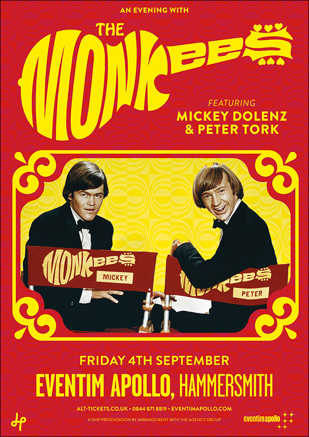 The Monkees Uk Tour Dates