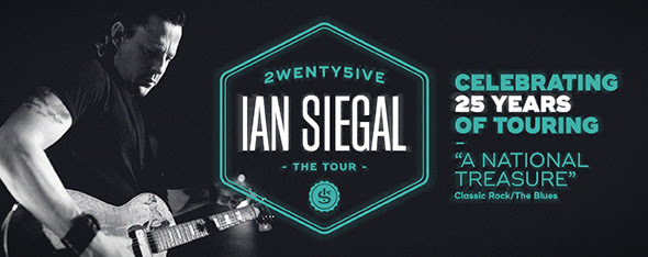 Ian Siegal Celebrating 25 Years with His Band
