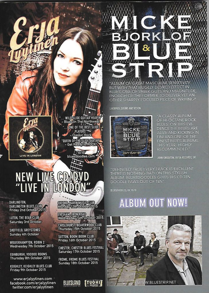 Bluesdoodles mention BM Aug 2015