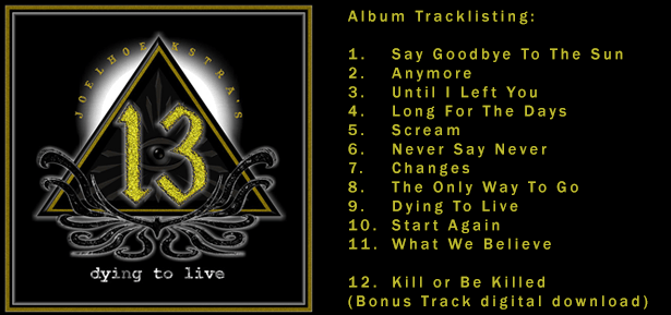 CD Review: Joel Hoekstra's 13 ~ Dying To Live