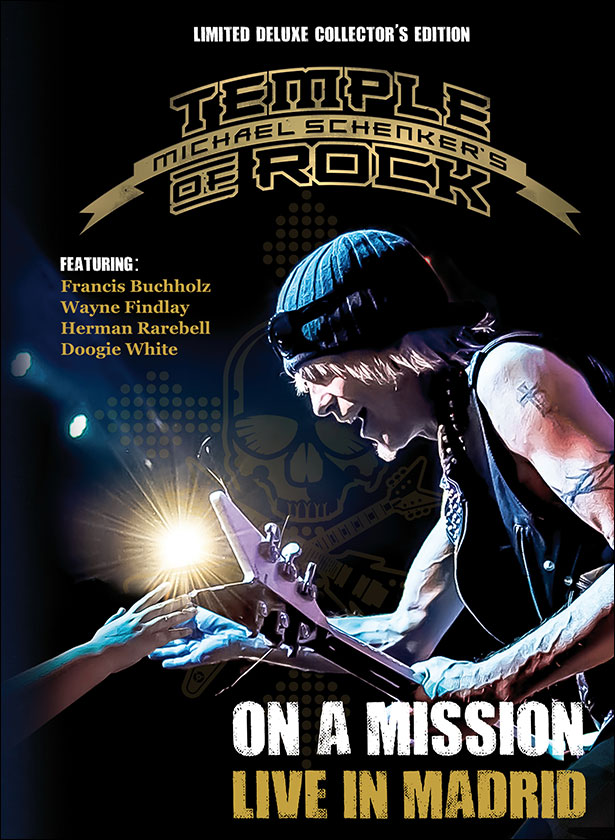 "MICHAEL SCHENKER'S TEMPLE OF ROCK~ ""ON A MISSION: LIVE IN MADRID"""