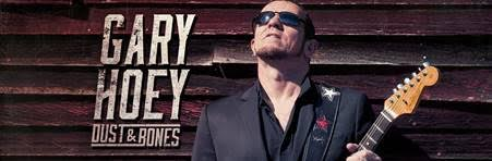 Blues are the Dust & Bones that fuel Gary Hoey