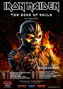 Iron Maiden Book Of Souls Tour 2017