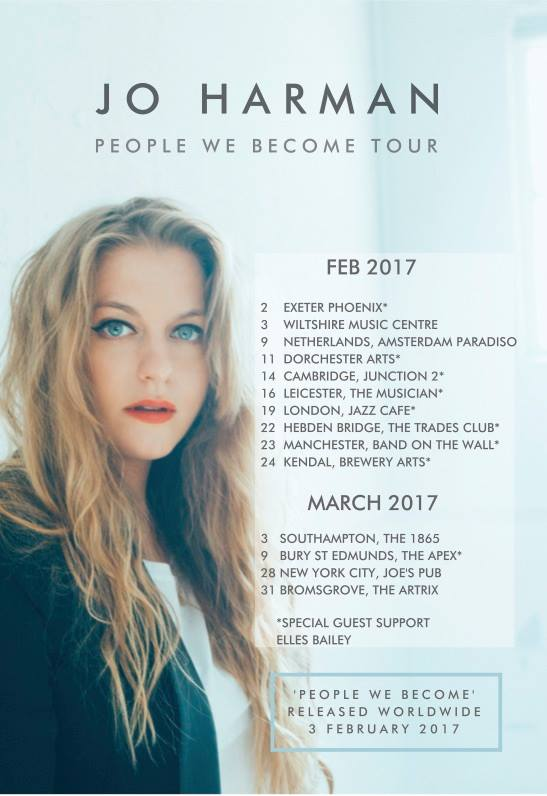 Jo Harman  People We Become Tour 2017