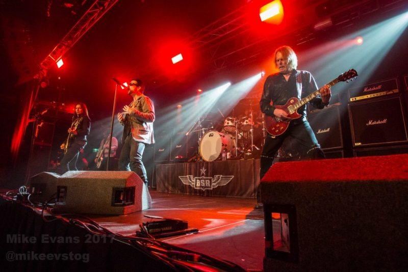 Black Star Riders Entertains The Tramshed Cardiff