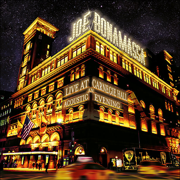 Joe Bonamassa Live at Carnegie Hall Acoustic Album
