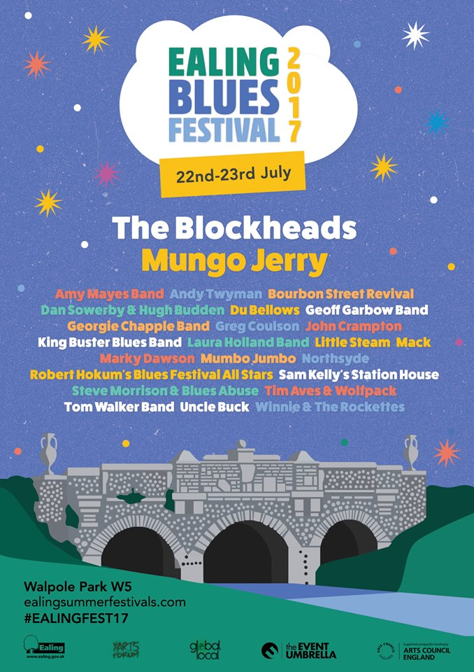 Ray Dorset aka Mungo Jerry Talking About Ealing, Festivals and Blues
