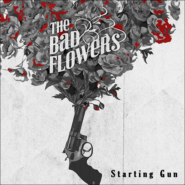 Bad Flowers Firing a Bouquet With Starting Gun