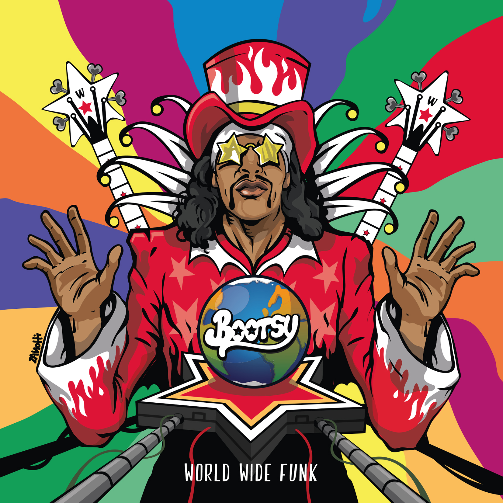 Bootsy Collins Capturing World Wide Funk