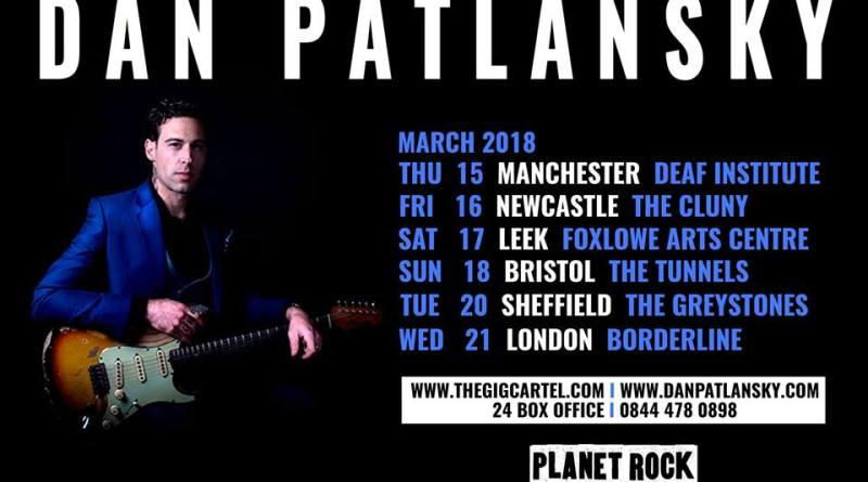 DAN PATLANSKY PERFECTION KILLS MARCH 2018 UK TOUR