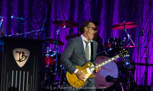 Joe Bonamassa Playing on Dry Land In Cardiff