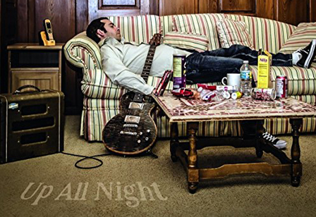 Up All Night with Albert Castiglia metaphorically speaking