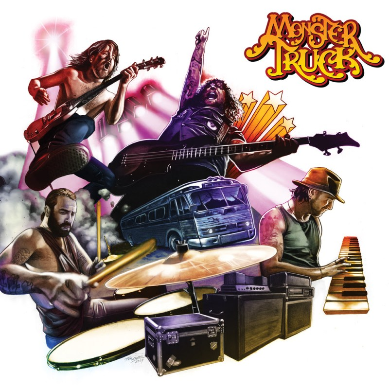 True Rocker declares Monster Truck's New Album