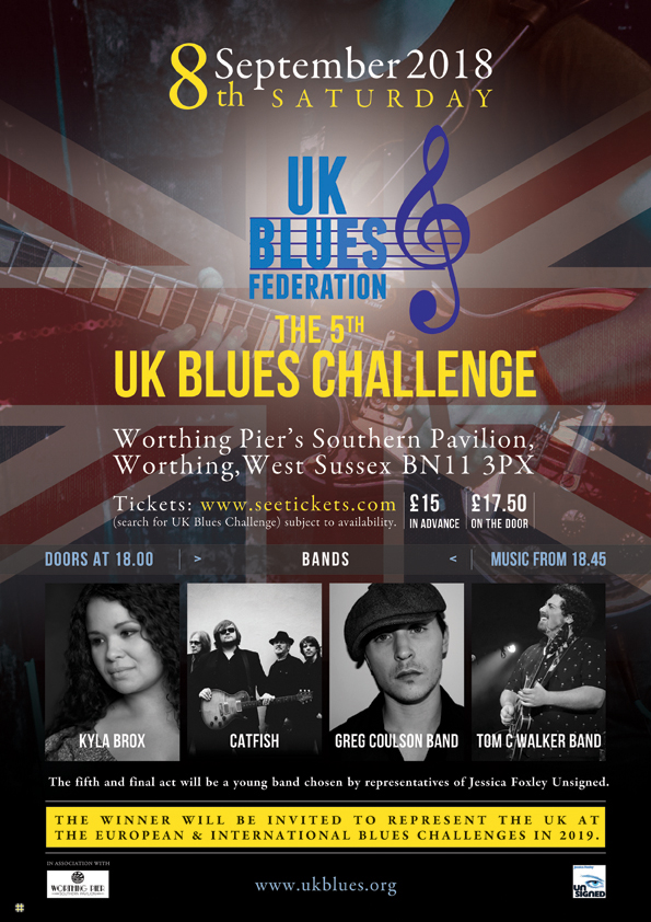 UKBlues 2018 Challenger Catfish In Conversation