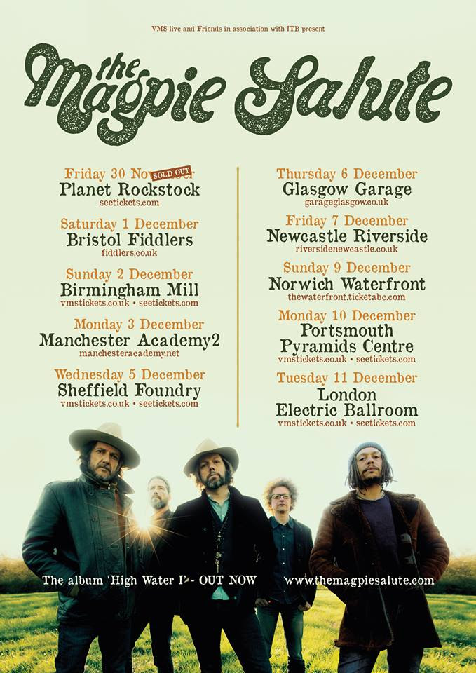 Magpie Salute On Tour Reaching The High Water Mark