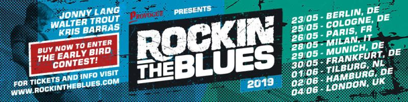 Rockin' The Blues 2019 with Trout Lang and Barras