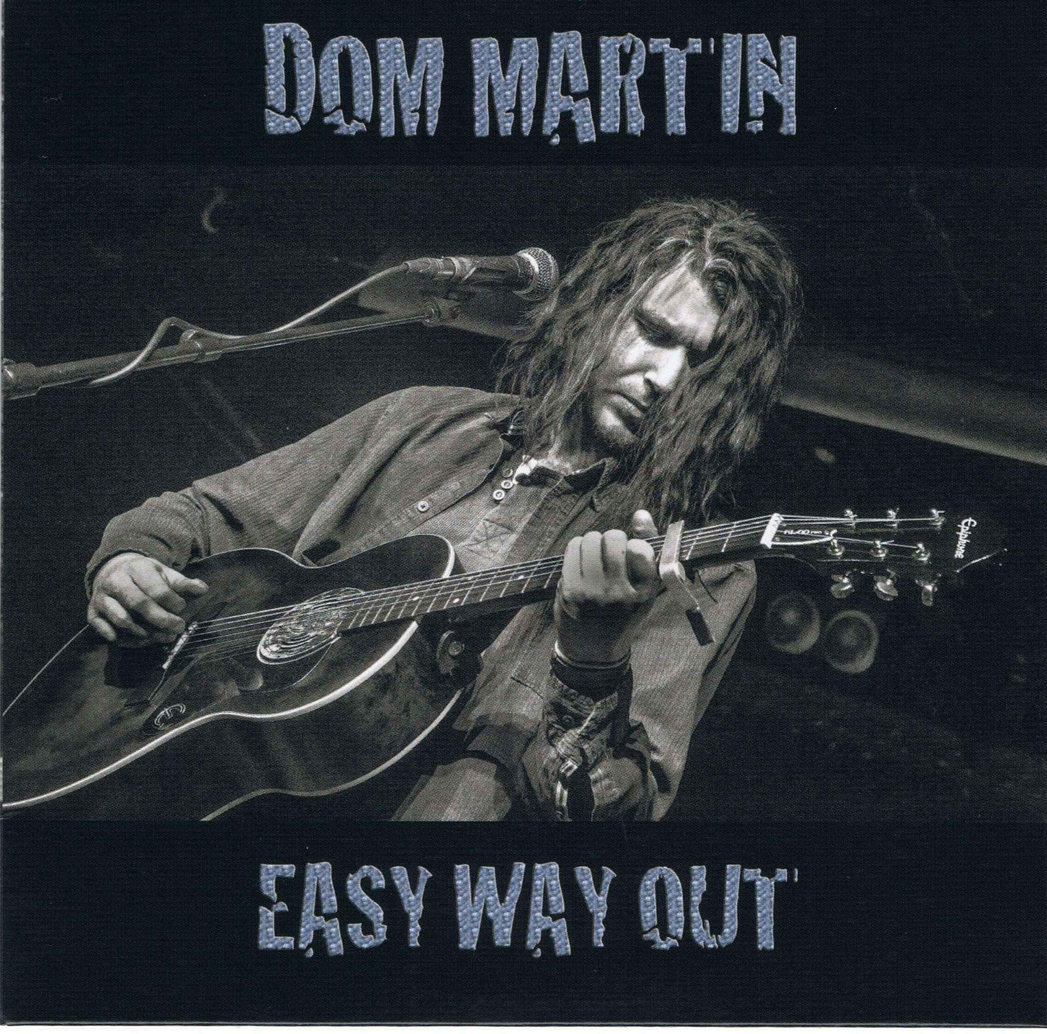 Dom Martin has an Easy Way Out on Blues EP