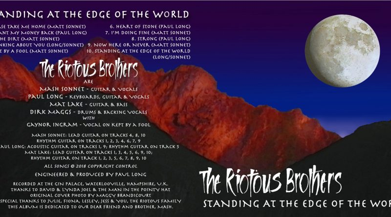 The Riotous Brothers Standing At The Edge Of The World