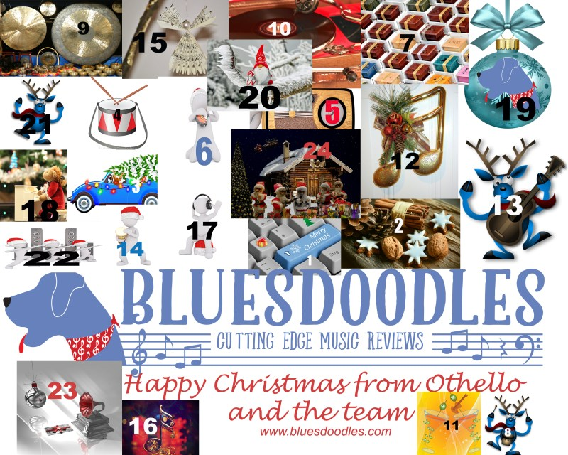 Christmas Eve Final Day of Bluesdoodles Advent
