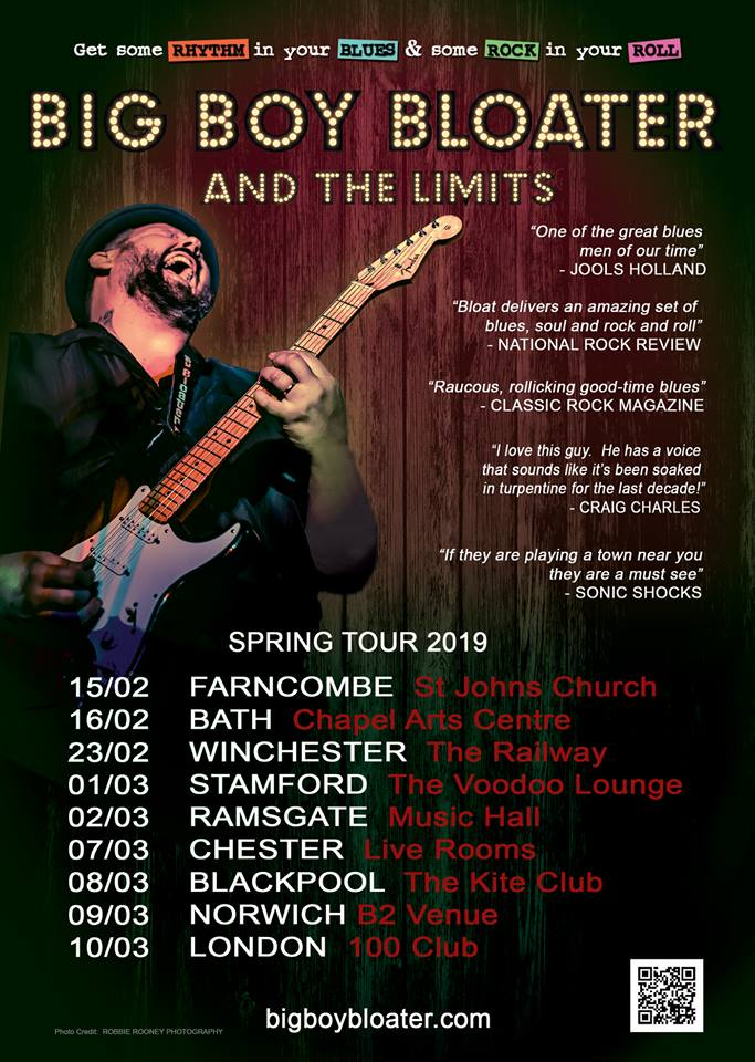 Big Boy Bloater And The LiMiTs UK 2019 To