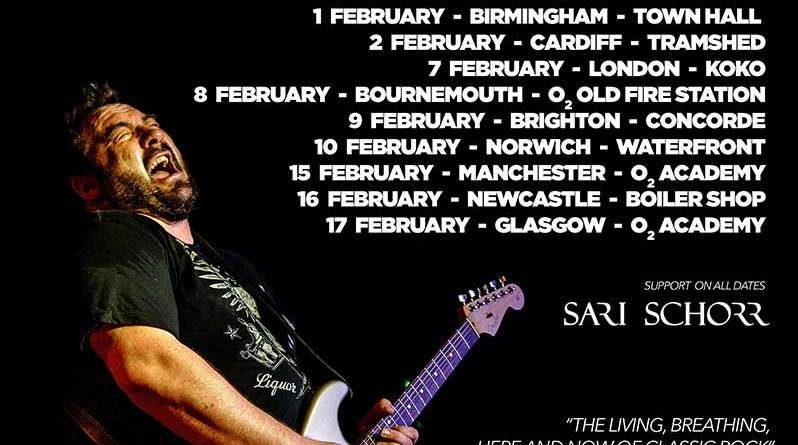 King King Back on the Road February 2019