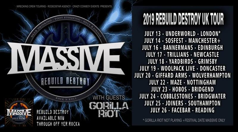 Massive Announce UK Tour and Video