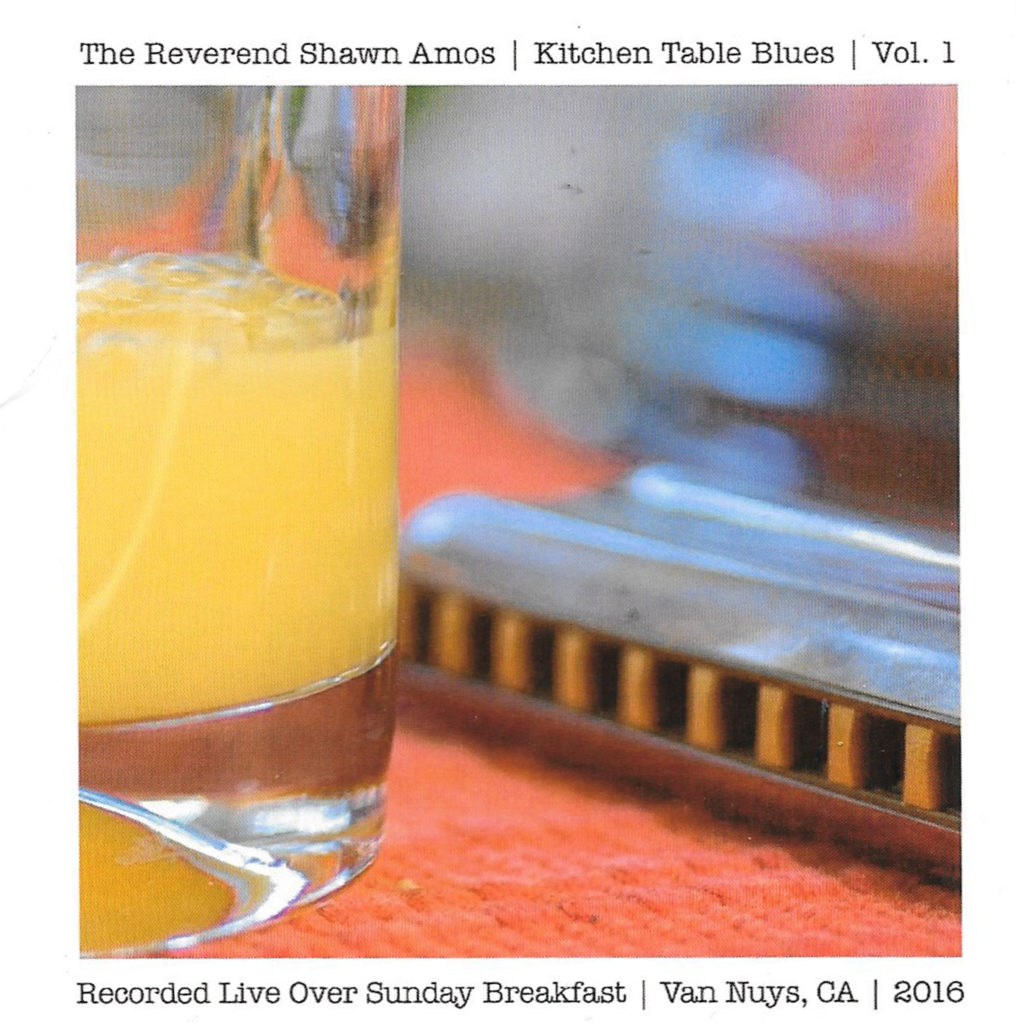 The Rev Shawn Amos dishes up some Kitchen Table Blues