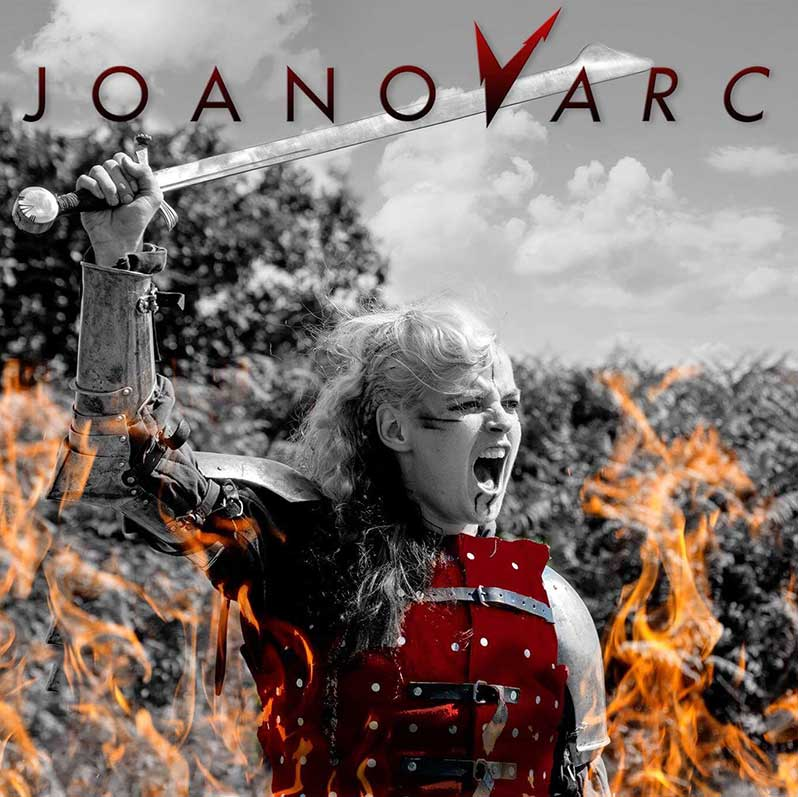 JOANovARC passionate rock drives this Self-Titled album