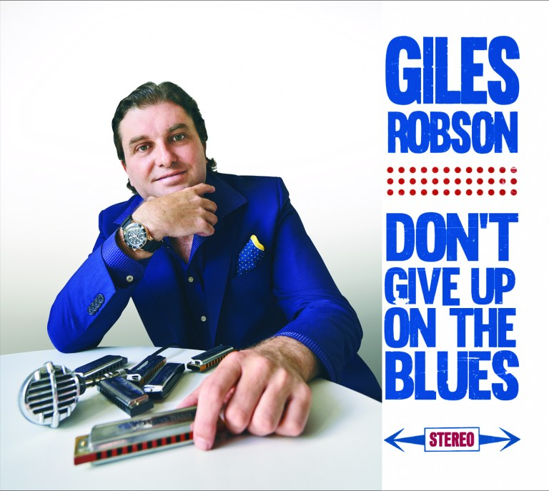 Don't Give Up On The Blues Says Giles Robson