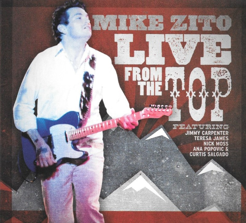 Mike Zito is Live From The Top again playing the Blues