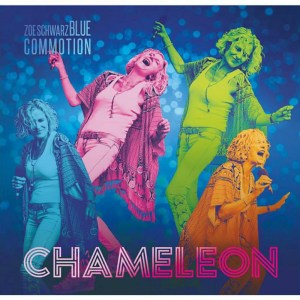 Zoe Schwarz Blue Commotion don't hide on Chameleon
