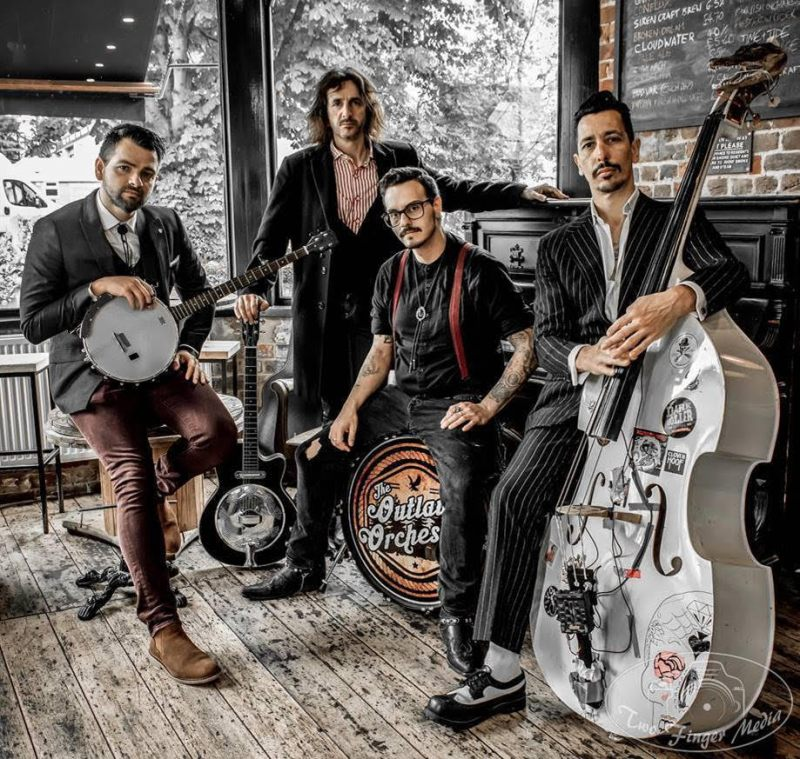 The Outlaw Orchestra Announcing Debut Album