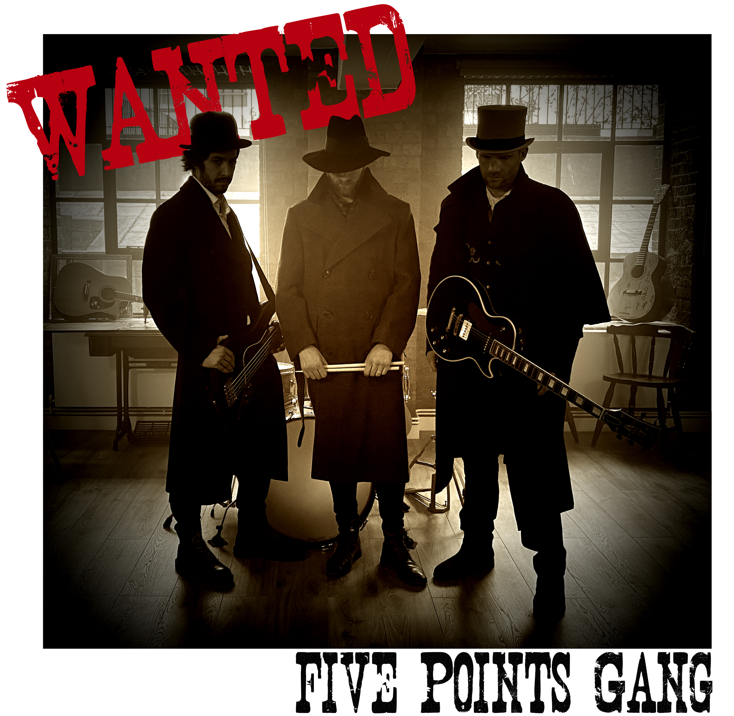 Five Points Gang have an APB on Wanted