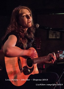 Lucy Zirins - Jaks Bar - Skegness 2013 - DSC_0570l