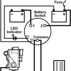 Rv Dual Battery Switch Wiring Diagram Photocell Light Sensor Using Blue Sea Systems Afd Terminals To Indicate Position