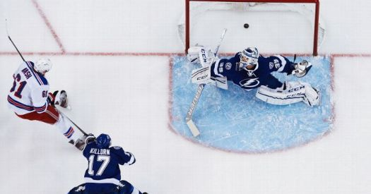FInally. (Photo by Scott Audette/NHLI via Getty Images)