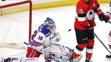 Photo of David Quinn and changing the Rangers' net front presence in the defensive zone
