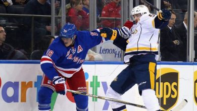 Photo of Lias Andersson, Ryan Lindgren to sit for Greg McKegg, Marc Staal