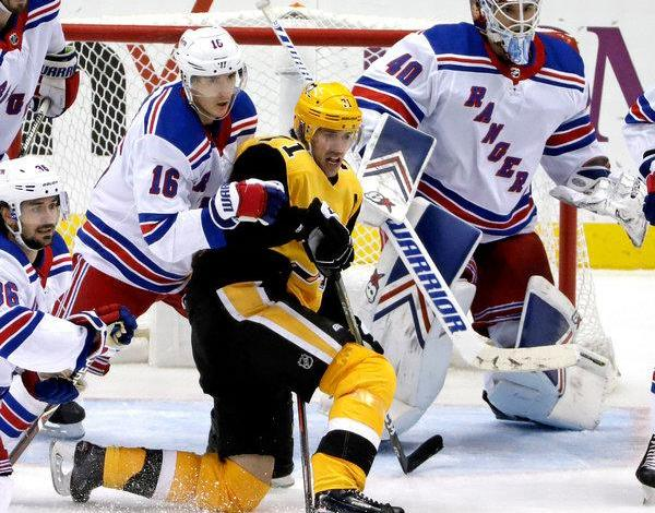 rangers penguins ryan strome