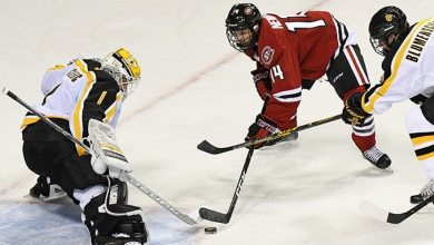 Photo of Friedman: Rangers set to sign Hobey Baker finalist Patrick Newell
