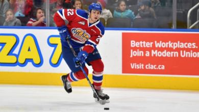 Photo of NY Rangers agree to terms with Matt Robertson on entry level contract