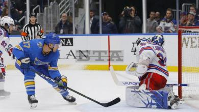 Photo of NY Rangers Goal Breakdown: Blues knock Rangers down to size