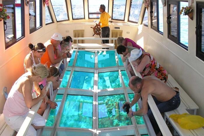 Glass Bottom Boat In Sharm El Sheikh