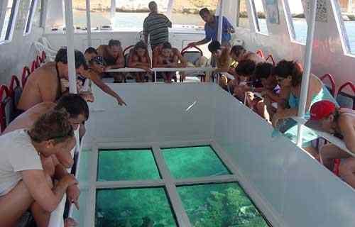 лодке со стеклянным дном из Шарм-эль-Шейха