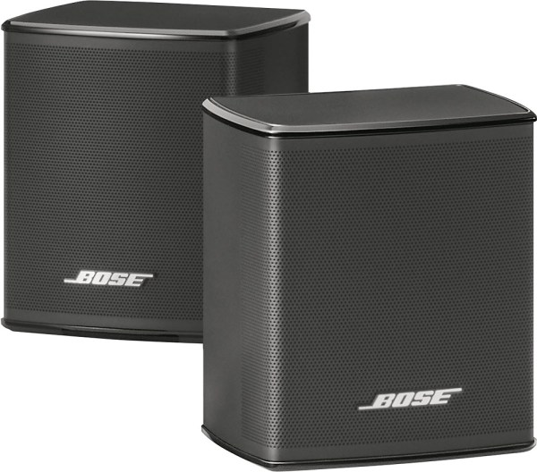 Cheap Bose Virtually Invisible 300 Wireless Surround Speakers Black Color