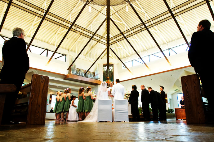 Catholic Wedding Ceremony in Fullerton, California