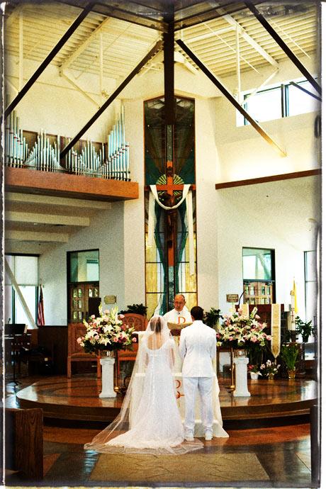 Catholic Wedding Ceremony in Orange County, California