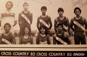 4 Jon English Cross Country Junior Year Fall of 82 was Capt